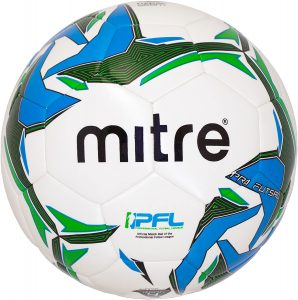 Mitre hyperseam soccer ball comes in size 4 for futsal.