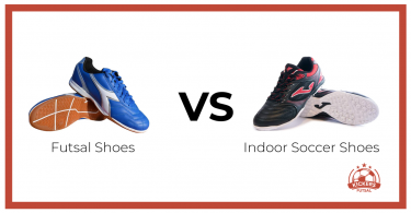 Futsal shoes vs. Indoor soccer shoes